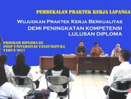 Pembekalan Praktek Kerja Lapangan Diploma