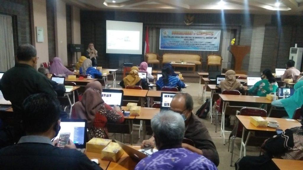 Sosialisasi e-learning FISIP Untan